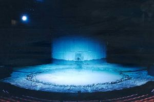 The set of A Midsummer Night's Dream (Designer Michael Levine)