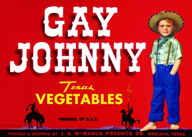 Gay Johnny Vegetables